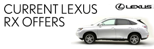 Lexus RX 450h from only £559 per month