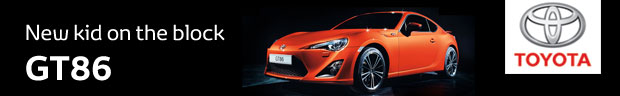 Another week, another accolade for our new sports coupé, the Toyota GT86