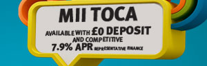 Seat MII 0 deposit and competitive 7.9% APR and free insurance