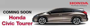 Coming Soon Honda Civic Tourer