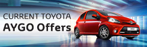 Toyota Aygo from £99 a month + 1 Year's Free Insurance + 0% APR Representative