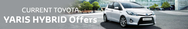 Toyota Yaris Hybrid from £169 per month + 1 Year's Free Insurance + 0% APR Representative