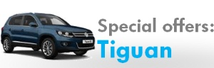 Special offers on Tiguan